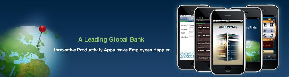 Enterprise Mobile Apps for a Leading Bank