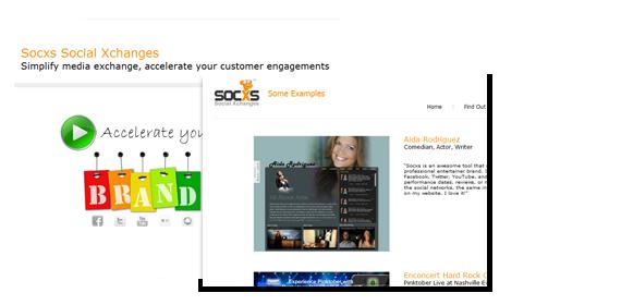 Rapid website development platform SOCXS