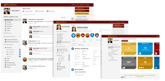 Enterprise social network development