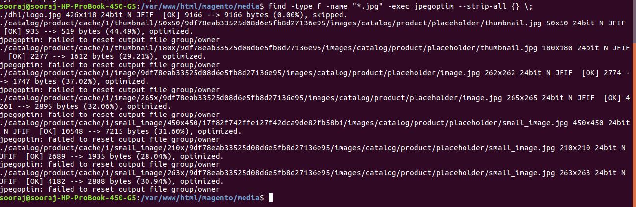magento image optimization
