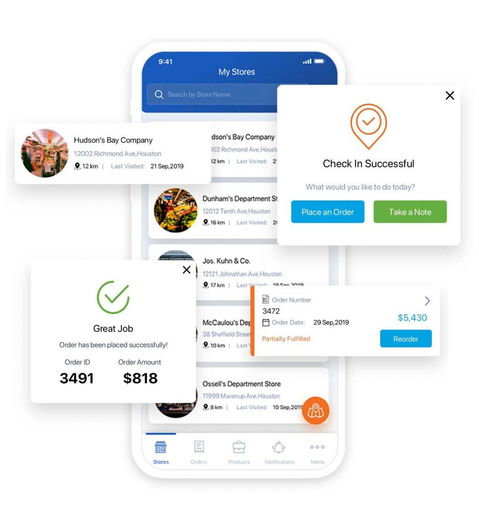 Field Sales App Features