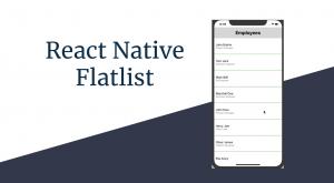 Flatlist in React Native