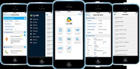 Microsoft Dynamics AX CRM App – DynAX