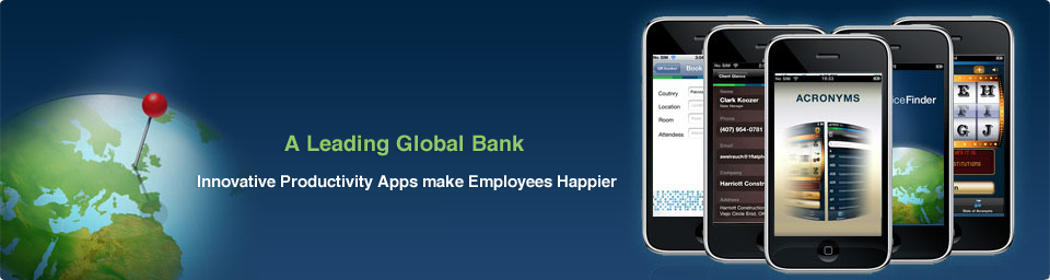 Enterprise Mobile Apps for a Leading Bank