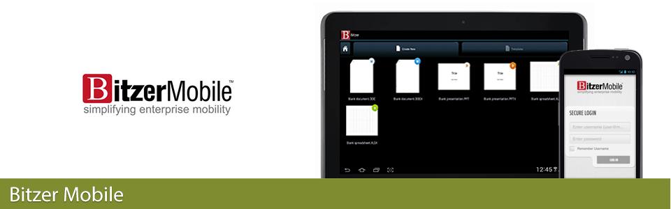 Bitzer mobile enterprise security app
