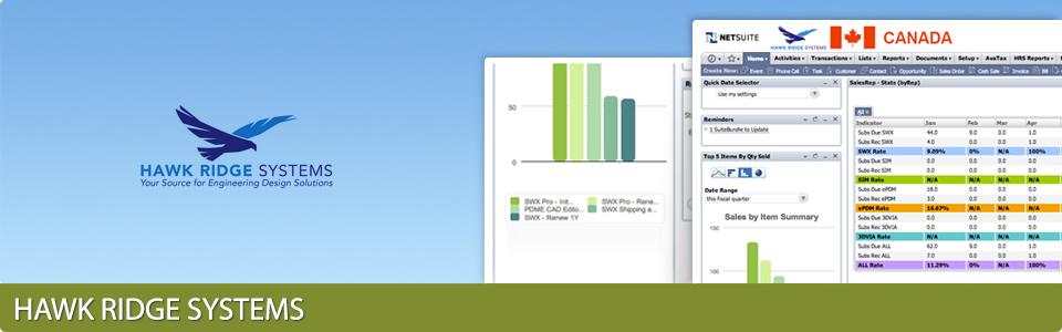 NetSuite Customization for Hawk Ridge Systems