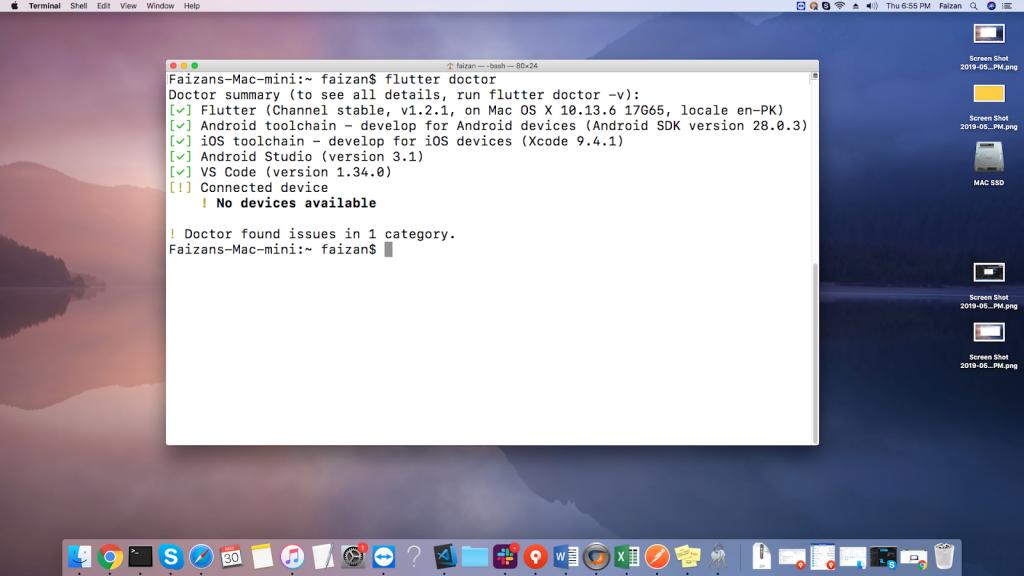 Flutter App development - Editing Environment